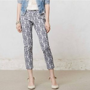 Cartonnier Brocade Printed Trouser Pants